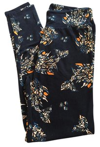LuLaRoe #lularoe #leggings #fish #fish Print Black with fish Leggings