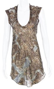 Isabel Marant Silk Metallic Tunic