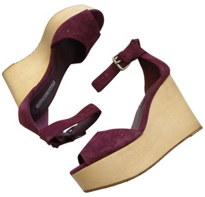 Charles by Charles David Burgundy Wedges