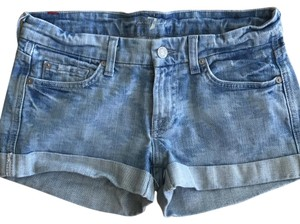 7 For All Mankind Mini/Short Shorts light denim