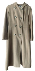 Anne Klein Long Hood Trench Coat