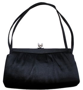 Morris Moskowitz Vintage Evening Designer Satchel in Classic Black