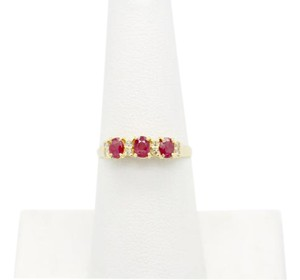 NYCFineJewelry Pink Topaz and Diamond Ring 14K Yellow Gold 0.4 CT TGW