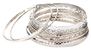 Other ** NWT ** 10 STAINLESS STEEL BANGLES BRACELET SET