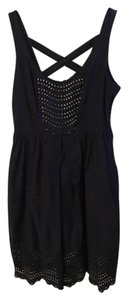 Moulinette Soeurs short dress Navy Blue/White on Tradesy