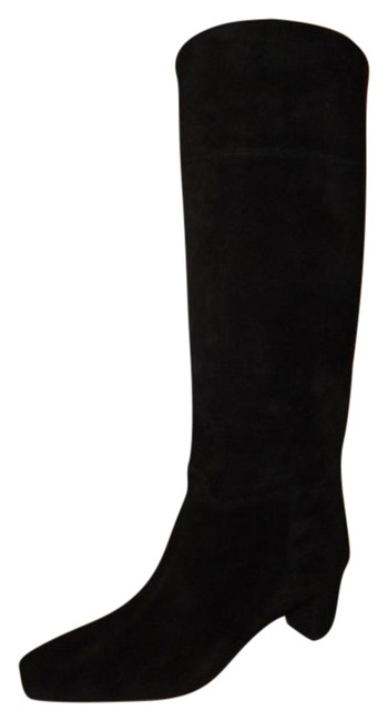Christian Louboutin Black Cavaliere Suede Knee High Tall Boots/Booties Size EU 37 (Approx. US 7) Regular (M, B) Christian Louboutin Black Cavaliere Suede Knee High Tall Boots/Booties Size EU 37 (Approx. US 7) Regular (M, B) Image 1