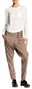 L.A.M.B. Linen Baggy Pants Toffee combo