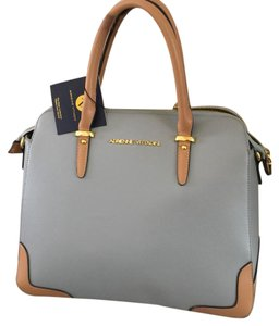 Adrienne Vittadini Spring Satchel in dusty blue