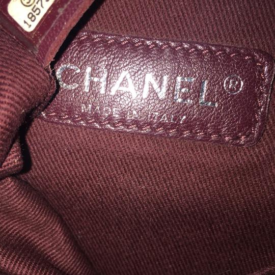 Chanel Suede Cc Boy Quilted Cross Body Bag Image 10