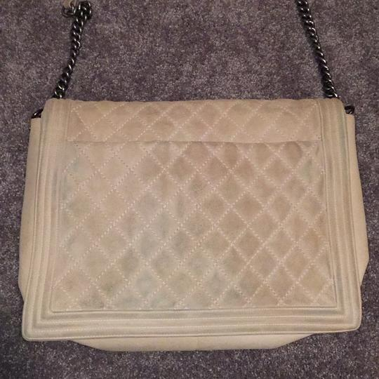 Chanel Suede Cc Boy Quilted Cross Body Bag Image 2