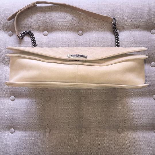 Chanel Suede Cc Boy Quilted Cross Body Bag Image 5
