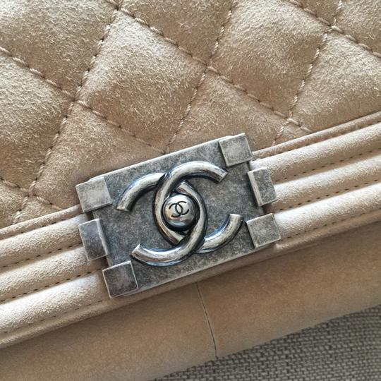 Chanel Suede Cc Boy Quilted Cross Body Bag Image 6