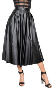 Boutique 9 Leather Skirt