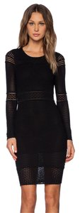 Torn by Ronny Kobo short dress Knit Bodycon Fitted Longsleeve Stretchy on Tradesy