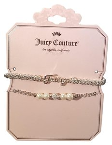 Juicy Couture Juicy Couture Fashion Bracelet Silver Plated Fuax Pearl