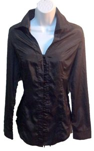 pripe Button Down Shirt black