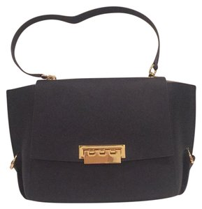 Zac Posen Satchel in Navy blue