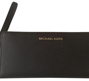 Michael Kors michael Kors jet set coffee brown travel continental wallet