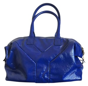 Saint Laurent Satchel in Cobalt Blue