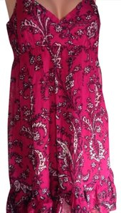 Kensie short dress Magenta Pink on Tradesy
