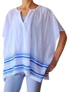 J.O.A. Caftan Cotton Striped Tunic