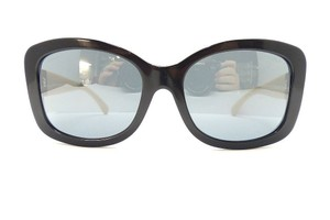 Chanel CHANEL 5322 c.1333/26 Black & Beige/ Grey Mirrored Sunglasses