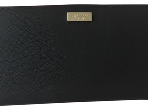 Kate Spade kate Spade neda laurel way black zip around wallet