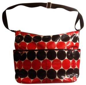 Kate Spade Red, black and white Diaper Bag