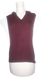 Theory Draped Top Plum