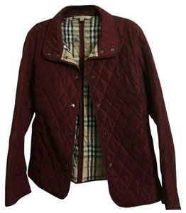 Burberry Brit Burgundy Jacket