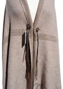Chanel Cashmere XLarge Stole Wrap Shawl Blanket Dallas 14A