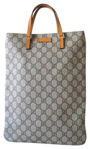 Gucci Joy Vuitton Leather Jackie Tote in yellow gray multi