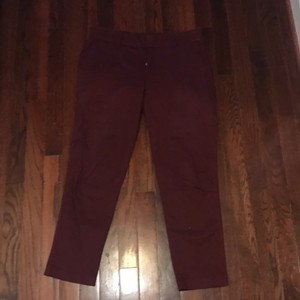 KUT from the Kloth Capri/Cropped Pants burgundy