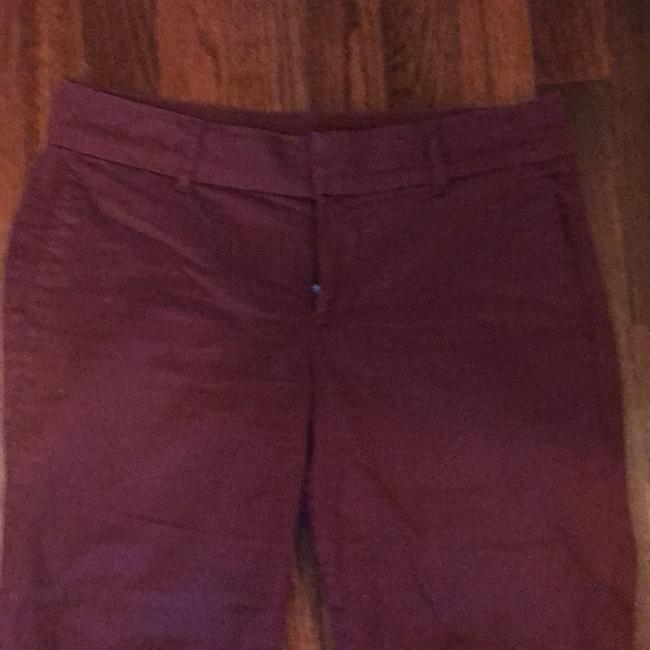 KUT from the Kloth Capri/Cropped Pants burgundy Image 1