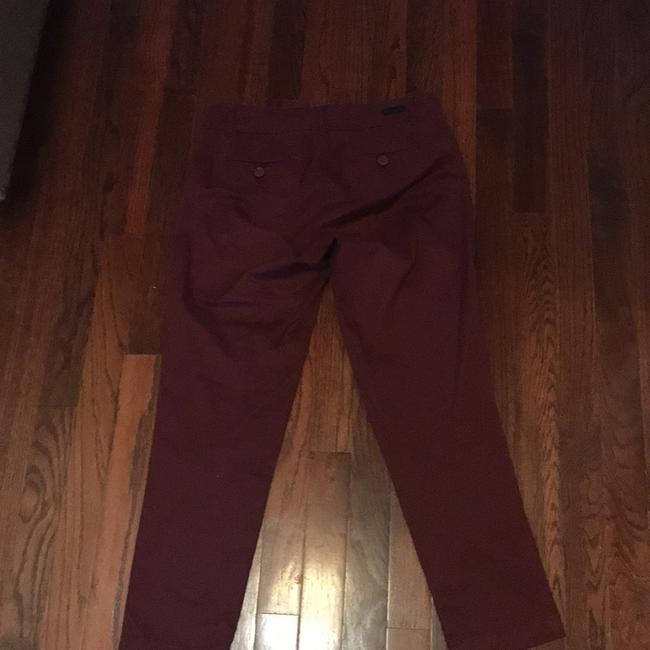 KUT from the Kloth Capri/Cropped Pants burgundy Image 3