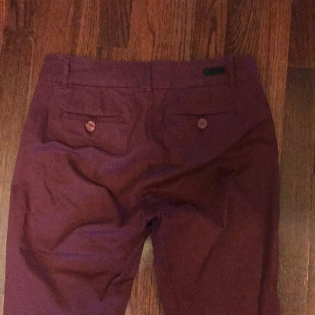 KUT from the Kloth Capri/Cropped Pants burgundy Image 4
