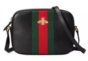 Gucci Line Bee Bee Line Gg Shoulder Bag