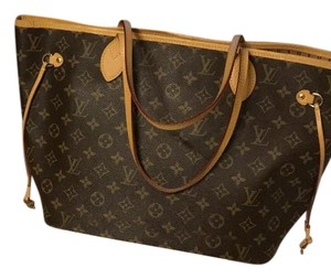 Louis Vuitton Tote in LV Classic monogram