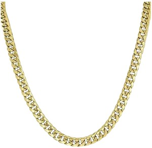 Other Miami Cuban Link Chain Necklace Mens 24 Inches Designer Mm Mens