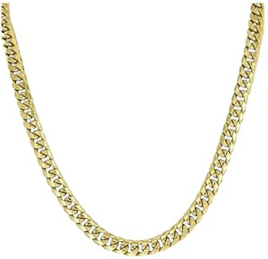 Other Miami Cuban 26 Necklace 10k Yellow Gold Mens Designer Chain Mm
