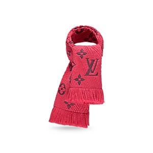Louis Vuitton Louis Vuitton Monogram Logomania Scarf Ruby