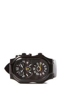 Philip Stein Philip Stein Black Teslar Chronograph Watch