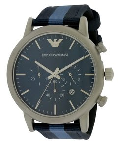 Emporio Armani Emporio Armani Fabric Chronogarph Mens Watch AR1949