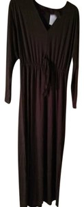 Chocolate Maxi Dress by Three Dots