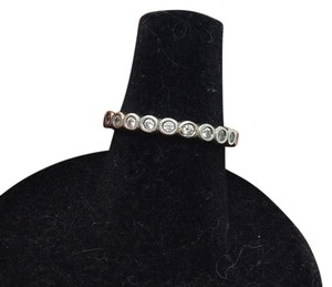 PANDORA size 6.25, CZ, eternity, sterling silver, stacking fashion ring