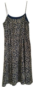 J.Crew short dress blue and white floral on Tradesy