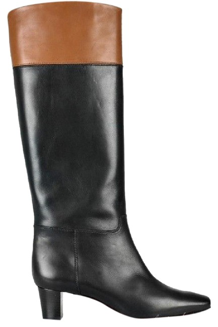 Item - Black/Brown Cavaliere Two Tone Knee High Tall Heels Boots/Booties Size EU 36.5 (Approx. US 6.5) Regular (M, B)
