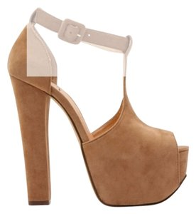 Nasty Gal Camel Platforms