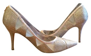Adrianna Papell Formal Gold Light Gold Pumps