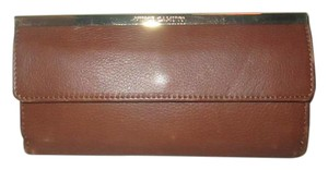 Vince Camuto Leather Axl Wallet Brandy